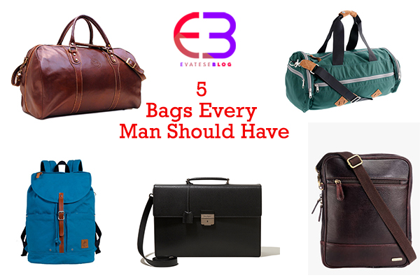 5 Bags Every Man Should Have