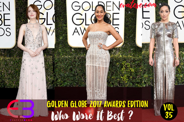 Golden Globes Award 2017 Edition Who Wore It Best - Evatese-Blog