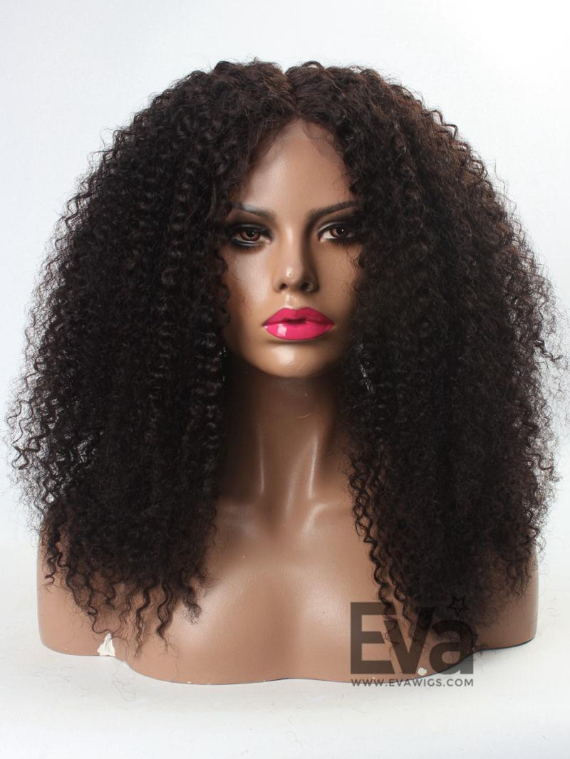 3C Hair 12 22 Natural Afro Curly Human Hair Full Lace