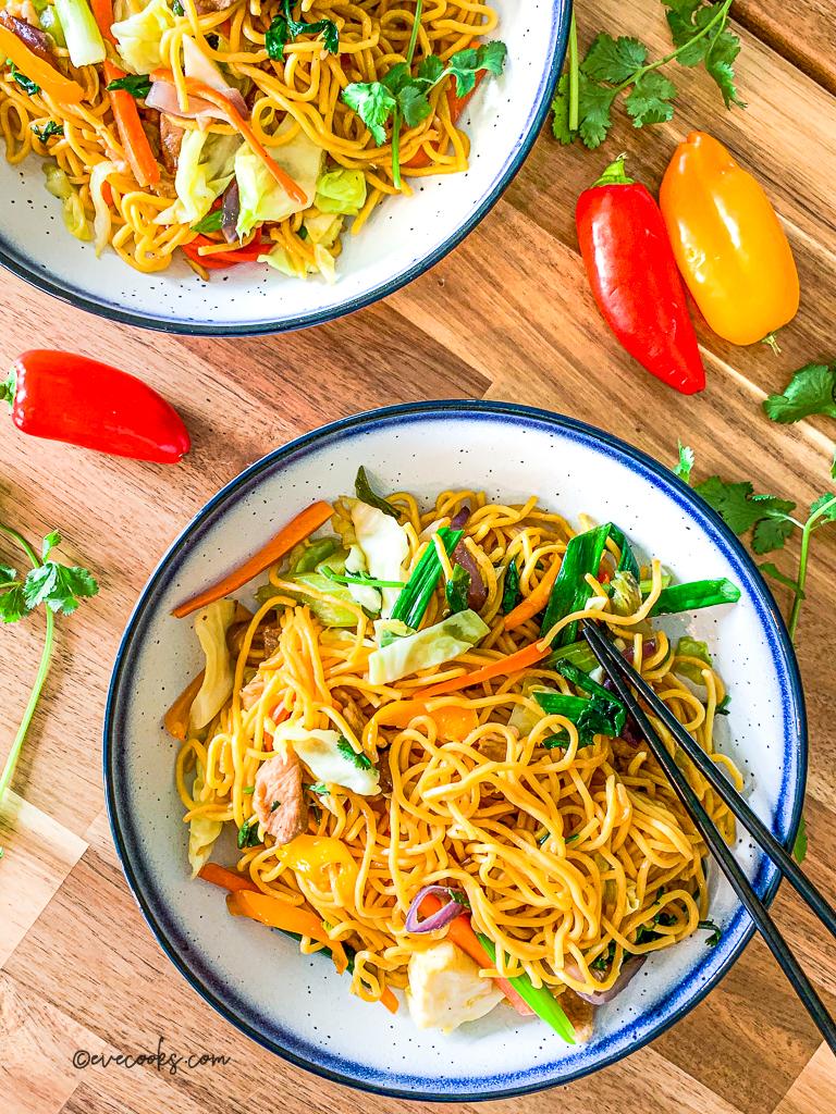 Easy Pancit Recipe Filipino Pancit Recipe Eve Cooks