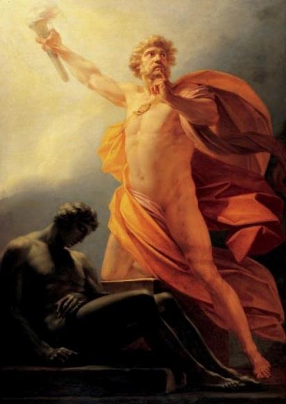 Prometheus par Fueger