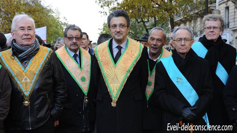 DANIEL KELLER, GRAND MAITRE DU GRAND ORIENT DE FRANCE