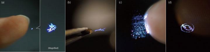 4_Des scientifiques ont créé des hologrammes qui réagissent au contact de la peau