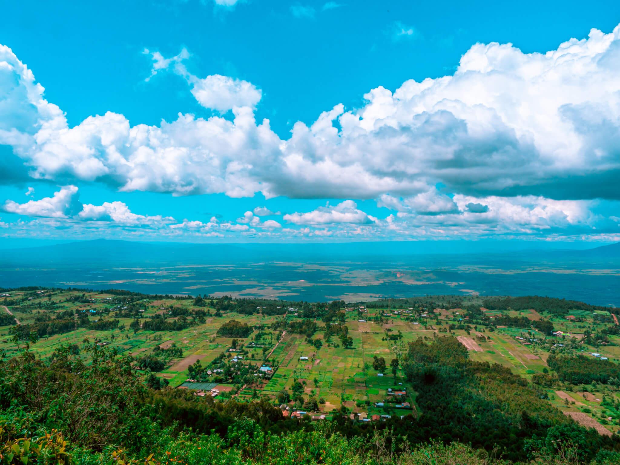 Keniassa maisemat ovat kauniita