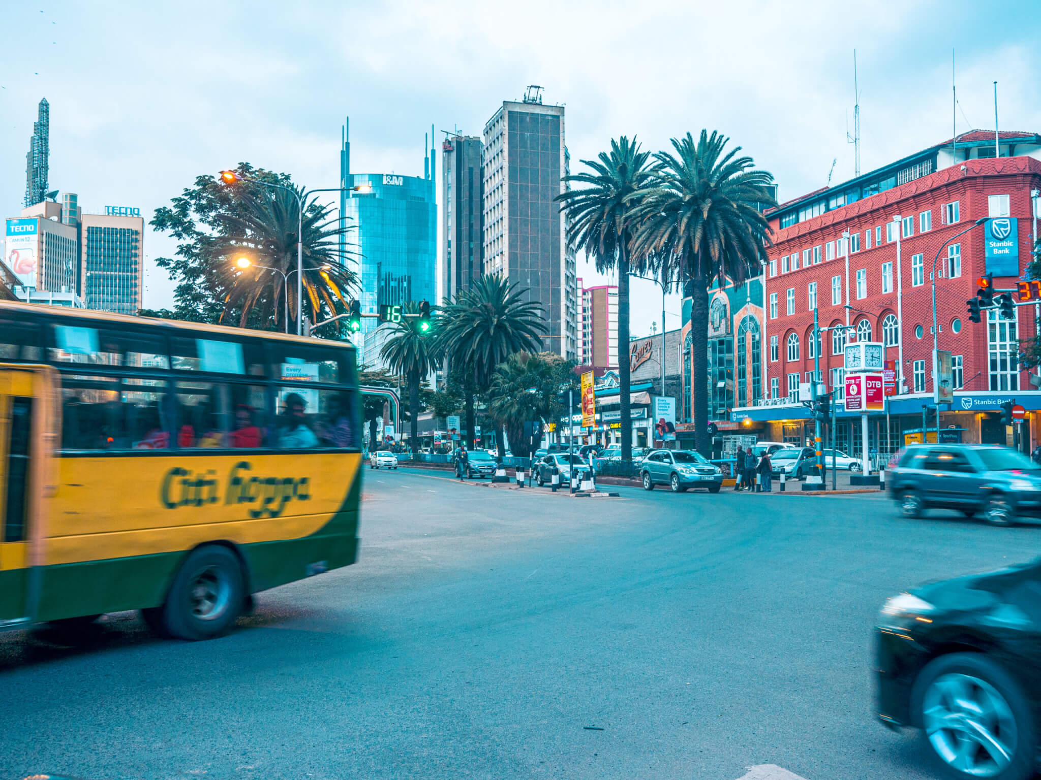 Nairobi liikenne
