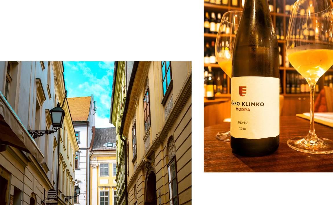 Vinko Klimko, viinibaari Bratislavassa