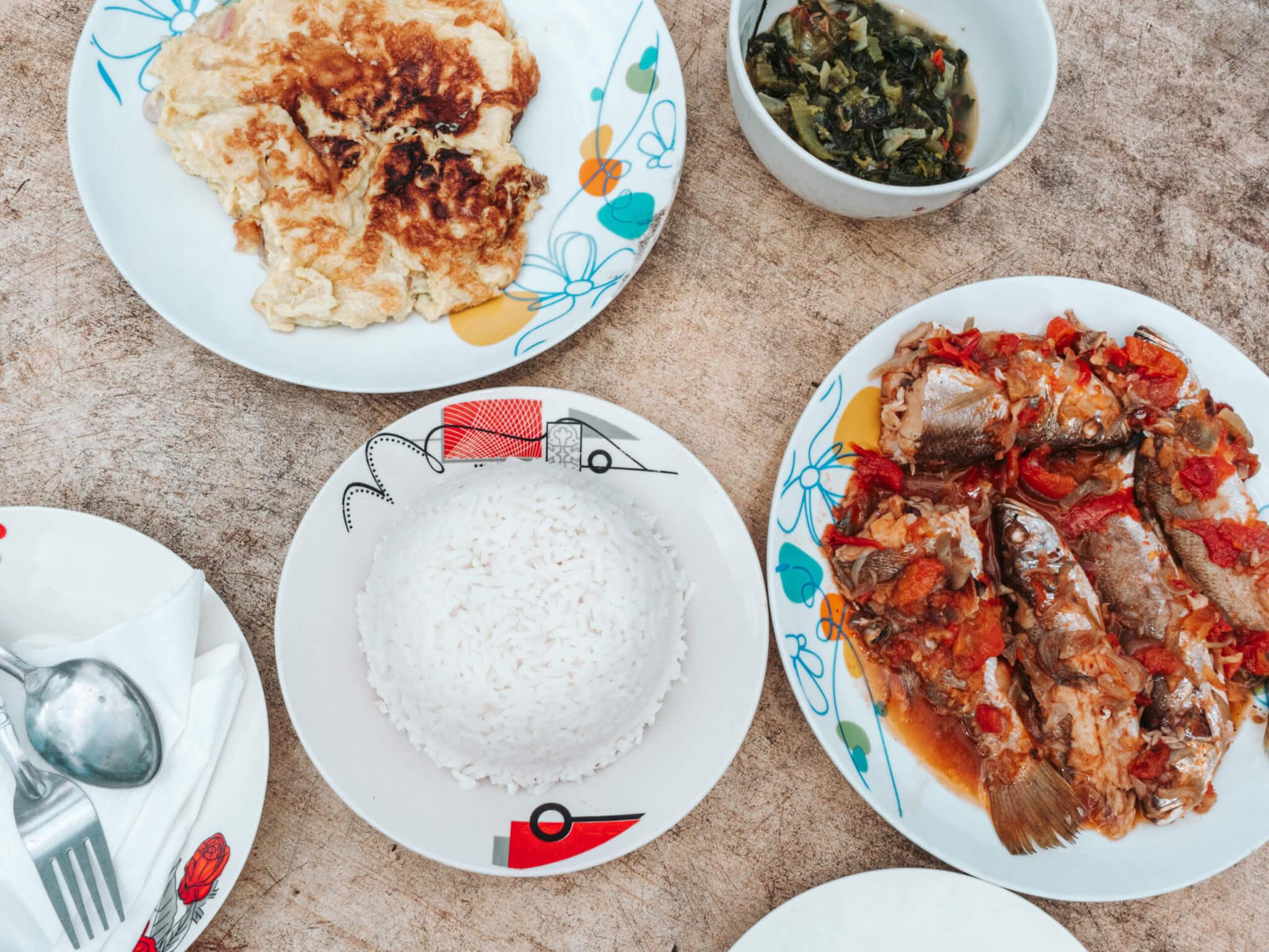 ruoka Madagaskarilla