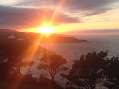 Sunset in Luarca
