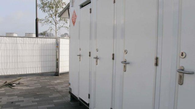 Sanitairunit toiletten