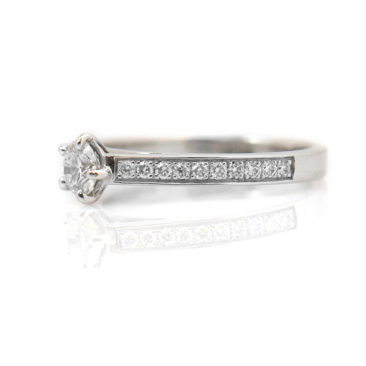 Bague diamant et platine CHAUMET | Référence : BA-B16598