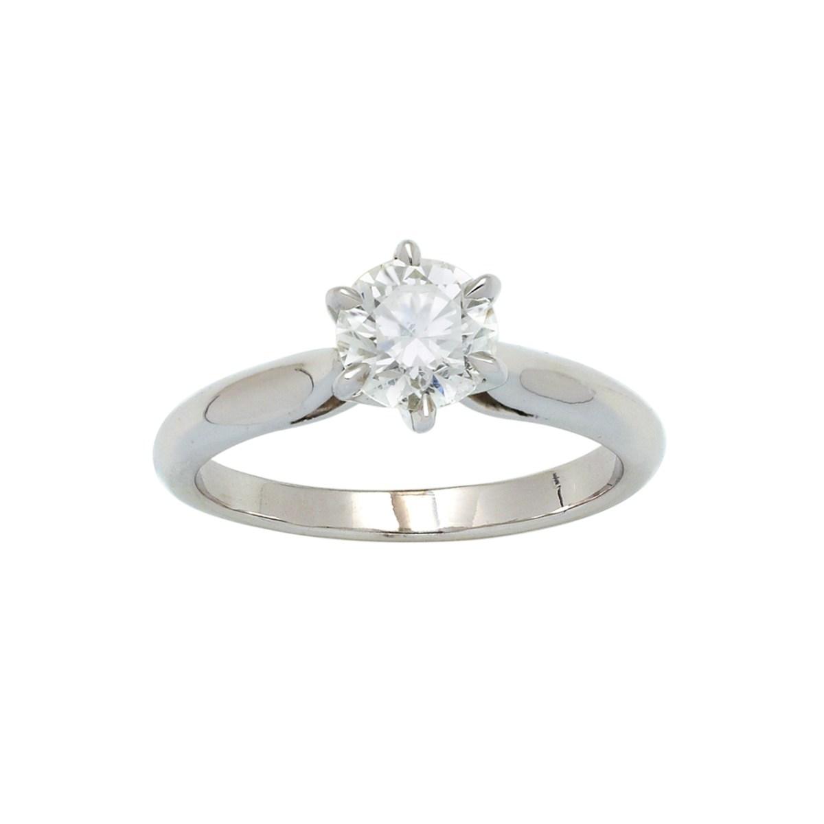 Solitaire Diamant 1.00ct certifié HRD Anvers