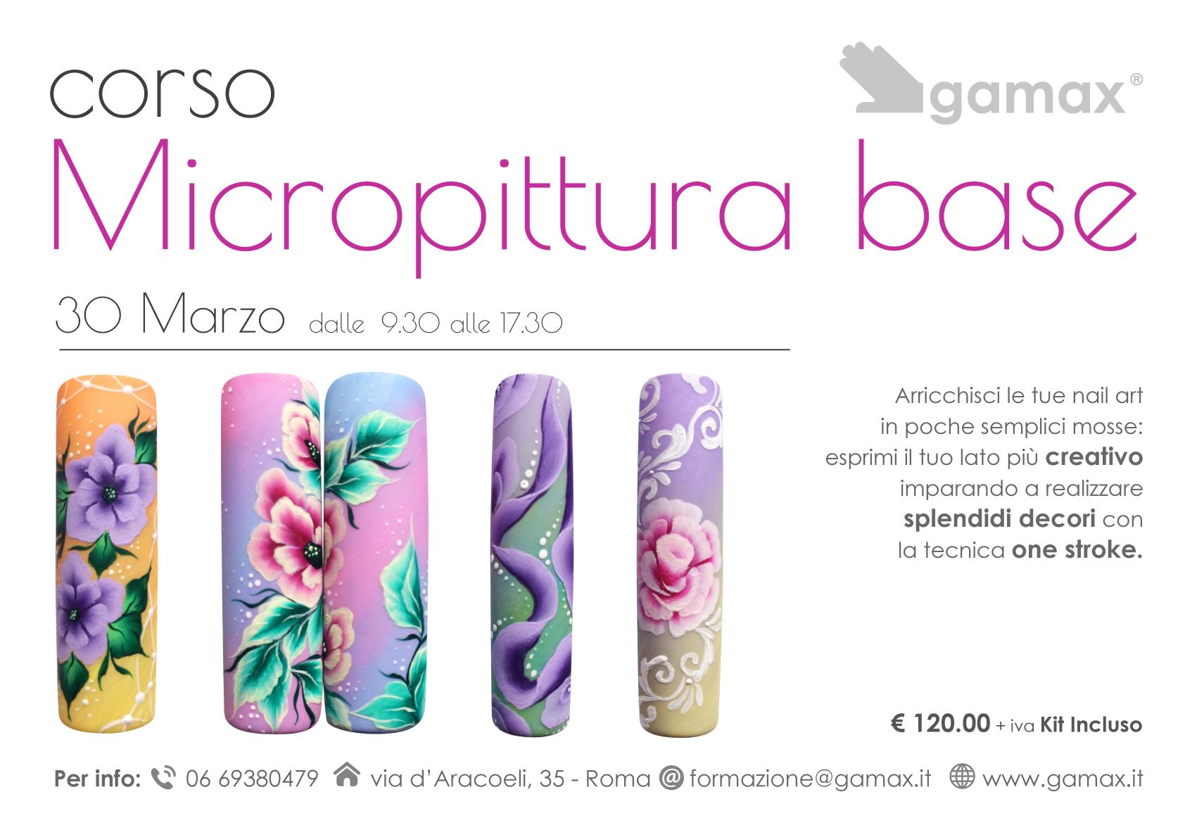 Nail Art Micropittura Tutorial Ideas
