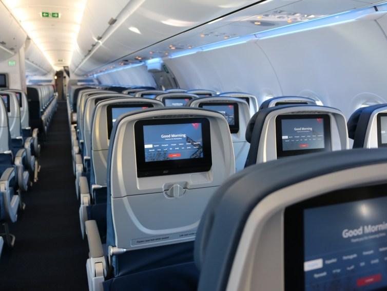 Delta Air Lines: Der Mittelsitz bleibt frei