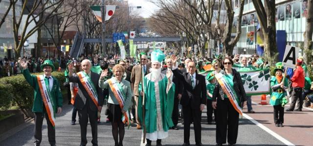 第26回セントパトリックスデーパレード東京
