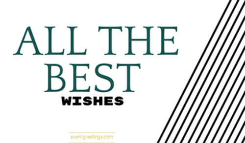 all the best wishes messages events greetings