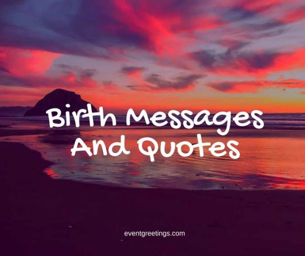 birth-messages-and-quotes