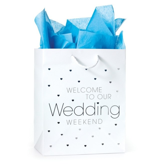 Diy Bags Gift For Wedding Guests Town Design Souvenirs H And A Paper Plastic Hotel Cool