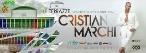 Cristian Marchi Le Terrazze Venerdì 9 Settembre 2016