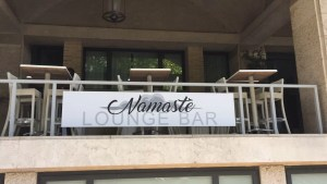 Namastè lounge bar