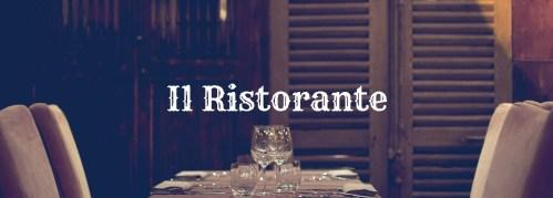 ristorante vinile