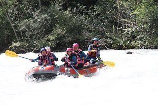rafting veneon eaux vives Les 2 Alpes