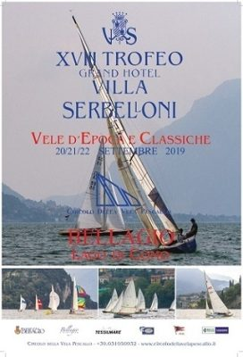 Trofeo per Vele d'Epoca e Classiche organizzato dal Circolo della Vela di Pescallo 320x471
