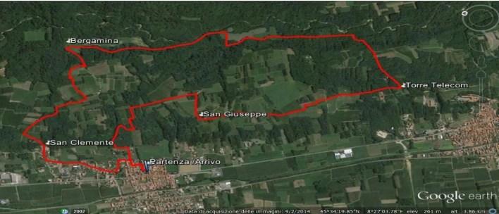 Camminata-tra-i-colli-Sizzano 10,5 km
