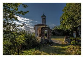 Chiesa di Sopramonte a Prato Sesia. Foto di Ernesto Vivoli