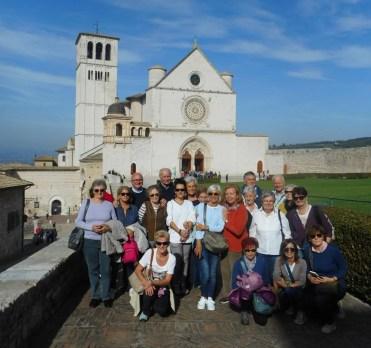 Gruppo ad Assisi San Francesco
