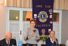 Photo of Quarona: Silvia Barbaglia al Lions Club Valsesia