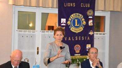 Photo of Quarona: Silvia Barbaglia al Lions Club Valsesia