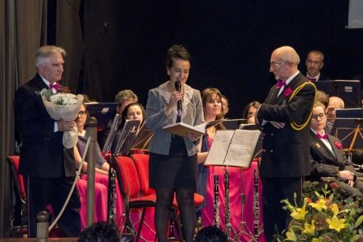 Premiazione al Concerto di Santa Cecilia Varallo Sesia