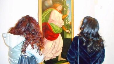 Photo of Varallo: restauro Angelo annunciante di Gaudenzio Ferrari