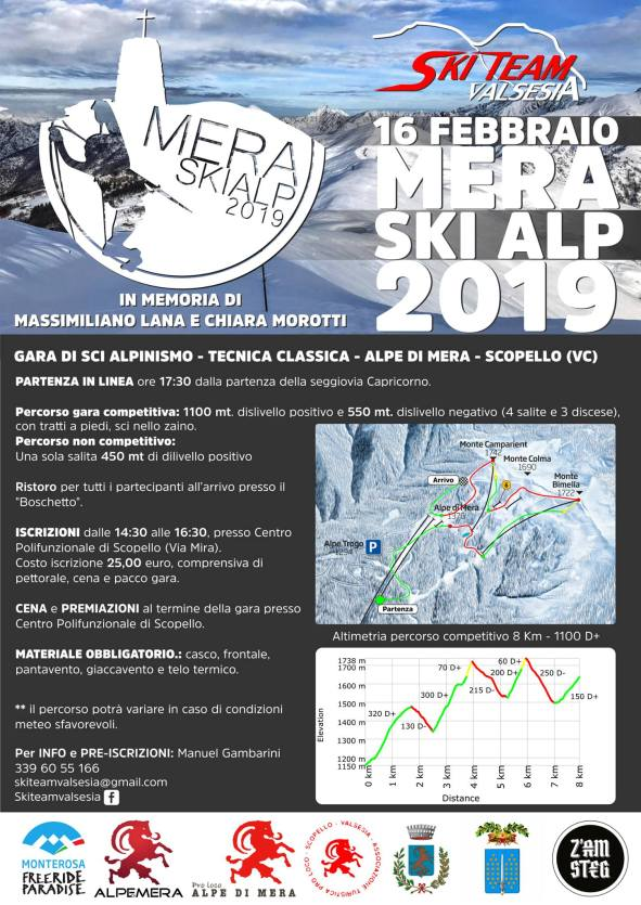 Mera ski Alp 2019 volantino