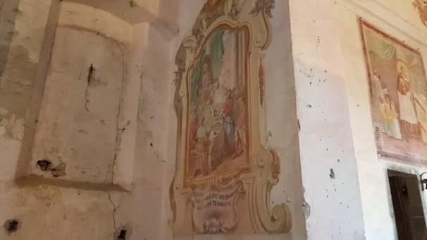 Affresco Interno Chiesa di San Carlo a Campertogno