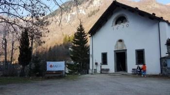 Campertogno. Giornate FAI di Primavera 2019, Chiesa di San Carlo
