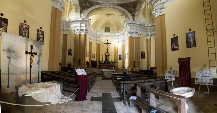 Interno Chiesa di San Martino Serravalle Sesia