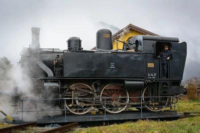 Treno storico a Varallo Sesia. Photo credit Maurizio Merlo