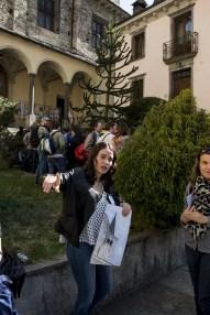 Giovani studenti ciceroni