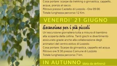 Photo of Lozzolo: Programma escursioni 2019