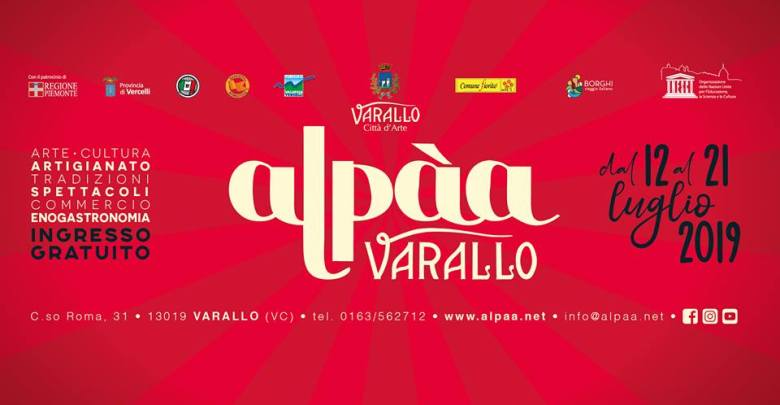 Alpàa 2019 copertina