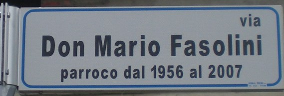 VIA DON MARIO FASOLINI