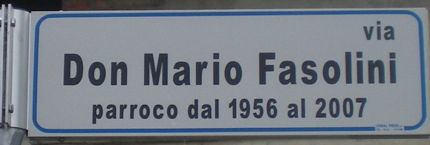 VIA DON MARIO FASOLINI