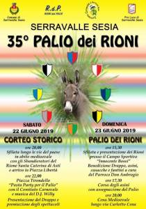 35° palio dei Rioni Serravalle Sesia