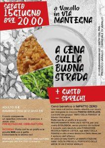 Cena sulla buona strada Varallo