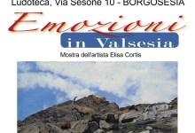 "Photo of Borgosesia: mostra ""Emozioni in Valsesia"""