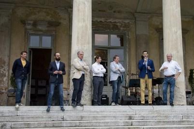 Presentazione Aperijazz Villa Caccia