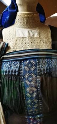 Puncetto nel costume tipico di Fobello, presso il Museo Tirozzo Carestia Sentiermangiando 2019 credit Eventi Valsesia e dintorni