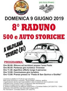 Raduno delle 500 e auto storiche Trivero 9 giugno