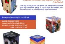 """Photo of Romagnano Sesia: mostra """"Io sono una scatola, emozioni d'artista"""""""
